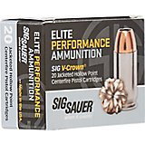 SIG SAUER Elite V-Crown 9 mm 124-Grain Centerfire Ammunition