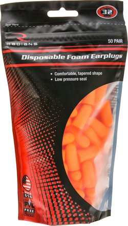Foam Earplugs 50-Pack