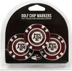 Team Golf NCAA Triple Chipper Golf Ball Markers 3-Pack