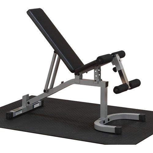 Body-Solid Powerline Flat Incline Decline Weight Bench