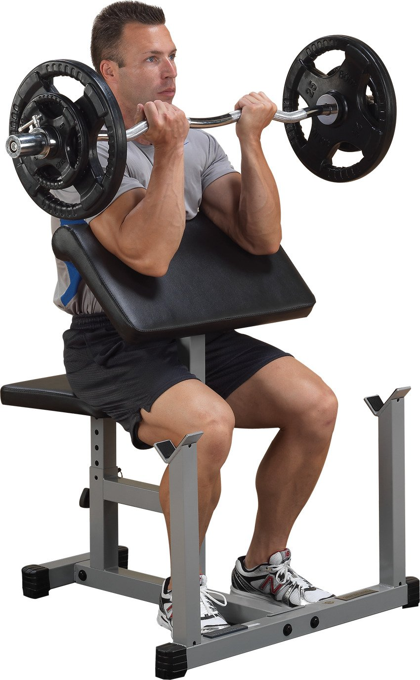 Body-Solid PowerLine Preacher Curl Bench - view number 1