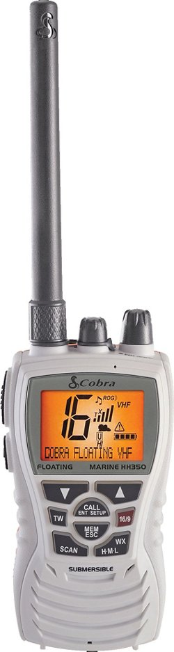 Cobra MR HH350W FLT Floating VHF Marine Radio