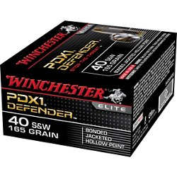 Bonded PDX1 .40 Smith & Wesson 165-Grain Handgun Ammunition