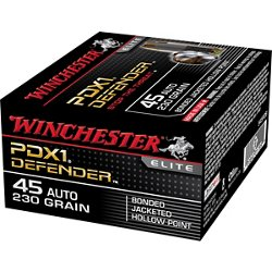 Supreme Elite Bonded PDSX1 .45 Auto 230-Grain Handgun Ammunition