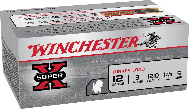 Winchester Super-X 12 Gauge Turkey Load Shotshells