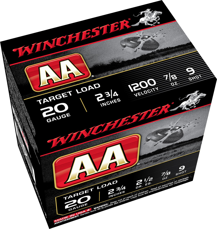 Winchester AA Target Load 20 Gauge 9 Shotshells