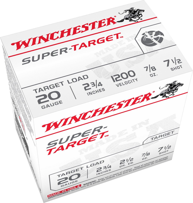 Winchester Target Load 20 Gauge 7.5 Shotshells - view number 2