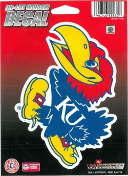 University of Kansas Die-Cut Decal
