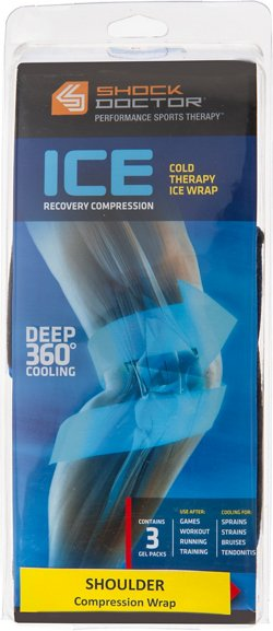 Shock Doctor Adults' Ice Recovery Shoulder Compression Wrap