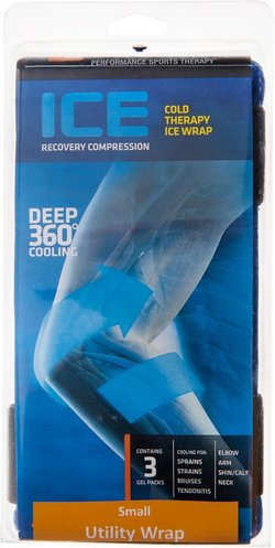 Shock Doctor Adults' ICE Recovery Medium Utility Compression Wrap
