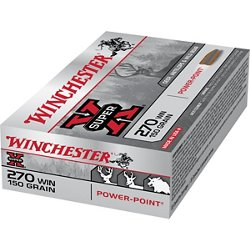 Super-X Power-Point .270 Winchester 150-Grain Rifle Ammunition