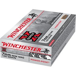 Super-X Power-Point 7 mm Remington Magnum 150-Grain Rifle Ammunition