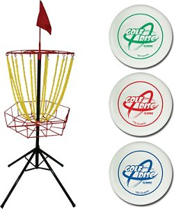 Triumph Sports USA Disc Golf Toss Set