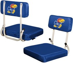 Logo™ University of Kansas Hard Back Stadium Seat