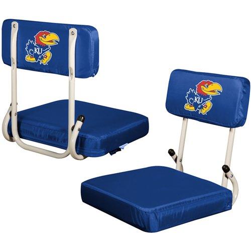 Logo™ University of Kansas Hard Back Stadium Seat
