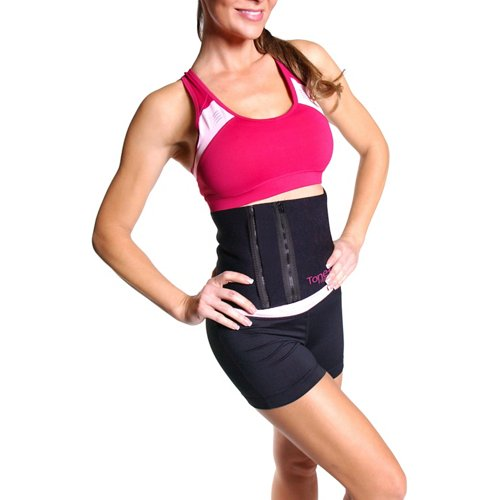 Tone Fitness Adults' Waist Slimmer Belt with Zipper