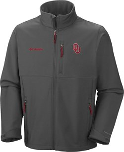 Columbia Sportswear Men's University of Oklahoma Collegiate Ascender™ Softshell Jacket