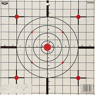 "Birchwood Casey® Eze-Scorer™ 12"" Sight-In Paper Targets 13-Pack"