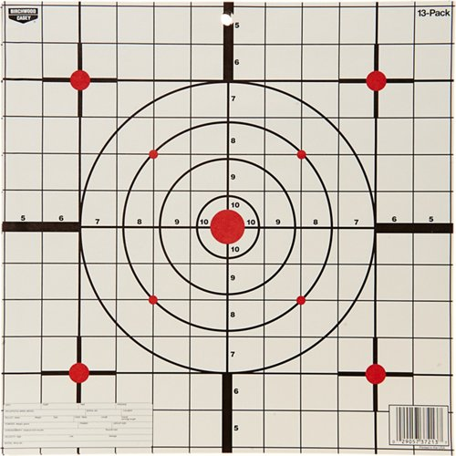 Birchwood Casey® Eze-Scorer™ 12' Sight-In Paper Targets 13-Pack