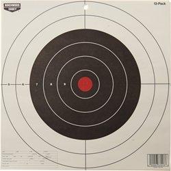 """Birchwood Casey® Eze-Scorer™ 12"""" Bull's-Eye Paper Targets 13-Pack"""
