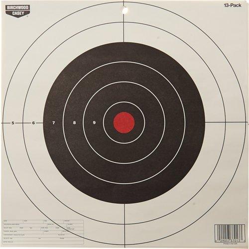 Birchwood Casey® Eze-Scorer™ 12' Bull's-Eye Paper Targets 13-Pack