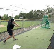 JUGS Fixed-Frame™ Short-Toss® 6.5' x 4' Pitching Screen