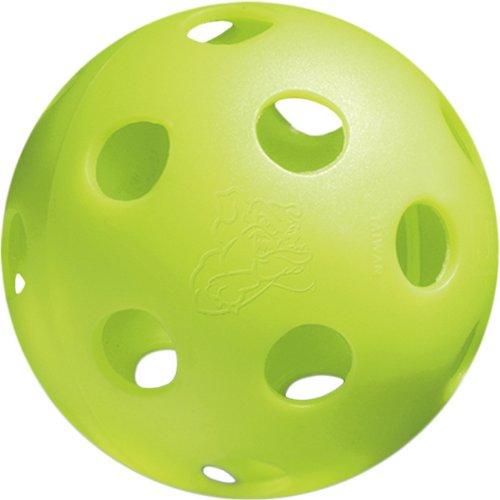 JUGS Bulldog Vision-Enhanced Polyball Softballs 12-Pack