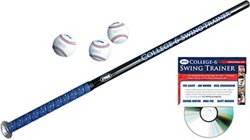 College-6™ Swing Trainer Baseball Bat Package