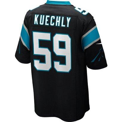 0207643b9 Nike Men s Carolina Panthers Luke Kuechly  59 Replica Game Jersey ...