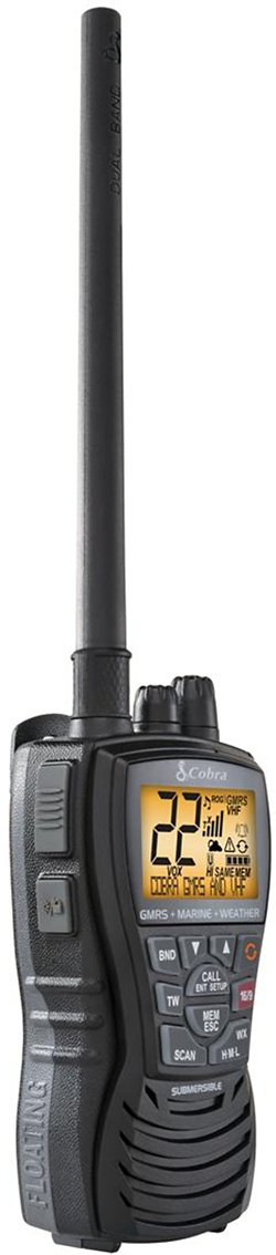 Cobra MR HH450 Dual VHF Radio