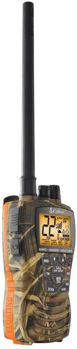 Cobra MR HH450 Camo VHF/GMRS Radio