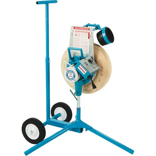 JUGS 1-Wheel Series Softball Pitching Machine with Cart