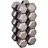 Body-Solid 80 - 100 lb. Hex Dumbbell Set