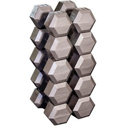80 - 100 lb. Hex Dumbbell Set