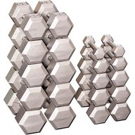Body-Solid 5 - 50 lb. Hex Dumbbell Set