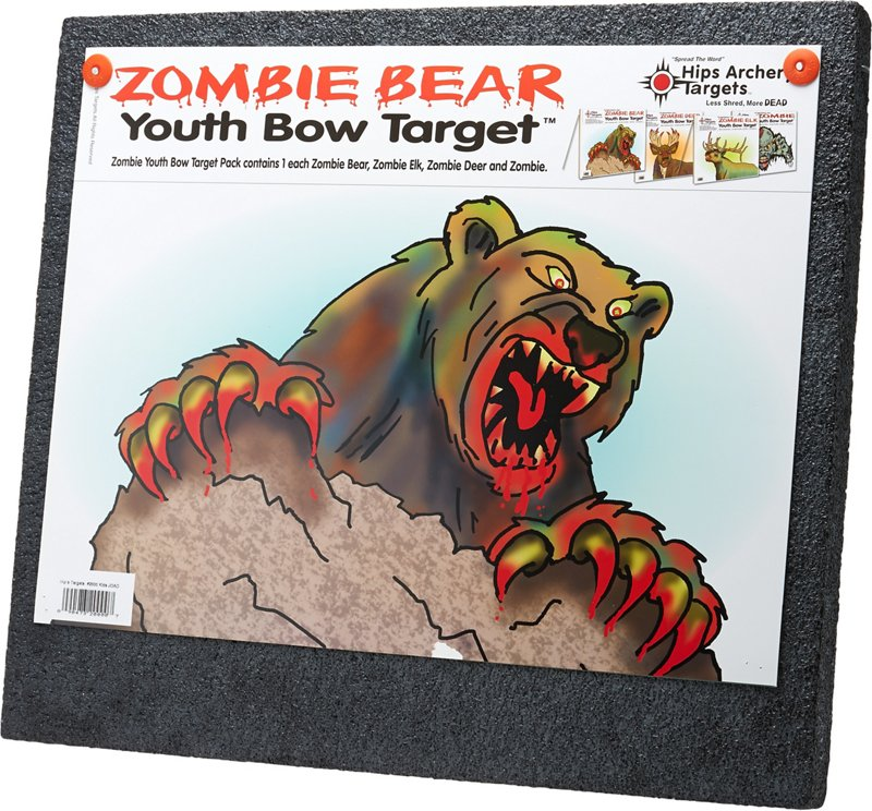 Hips Zombie Youth Bow Archery Target - Archery, Targets at Academy Sports thumbnail