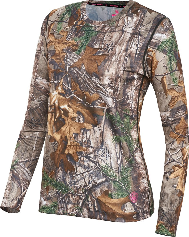 Game Winner Women's Active Base Layer 1.0 Top - Camo Clothing, Camo Hunt Baselayer at Academy Sports thumbnail