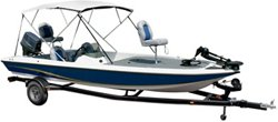 """Gulfstream Model No. 3 Bimini Top Fits Boats With a 78"""" - 88"""" Beam Width"""