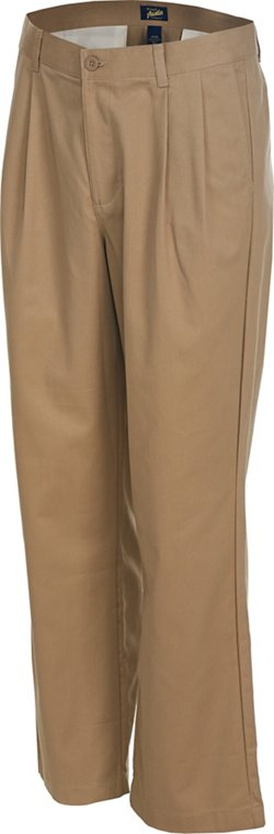 Austin Trading Co.™ Men's School Uniform Pleated Front Twill Pant