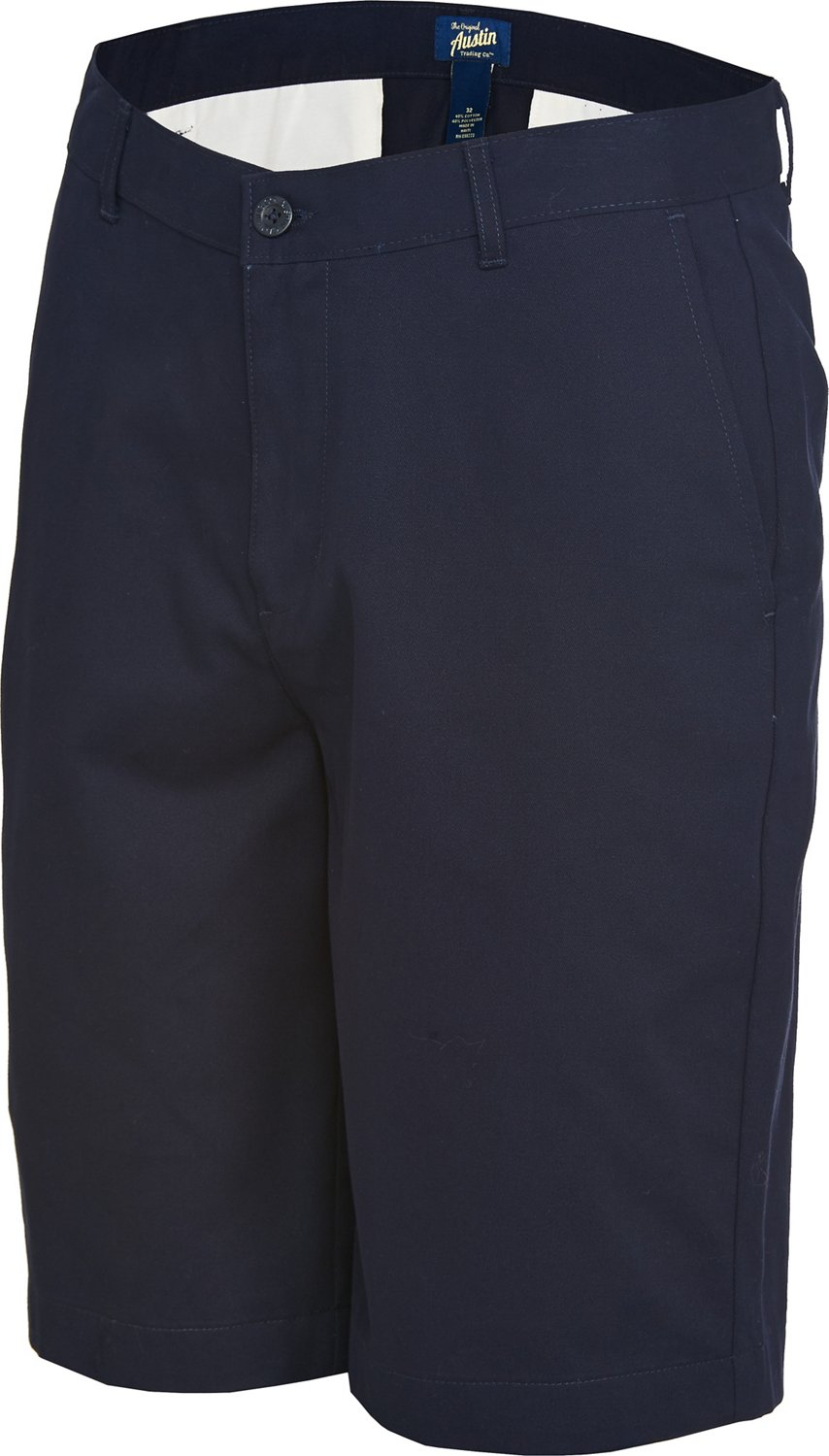 Display product reviews for Austin Trading Co. Men's School Uniform Flat Front Twill Short