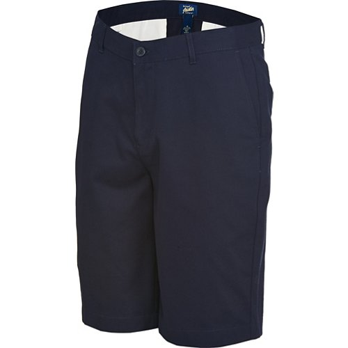 Austin Trading Co. Men's School Uniform Flat Front Twill Short