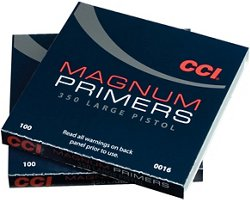 CCI® 350 Magnum Large Pistol Primers 100-Pack
