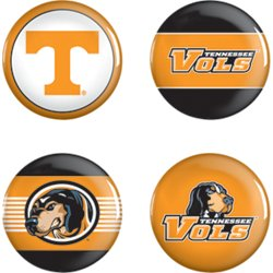 University of Tennessee Buttons 4-Pack