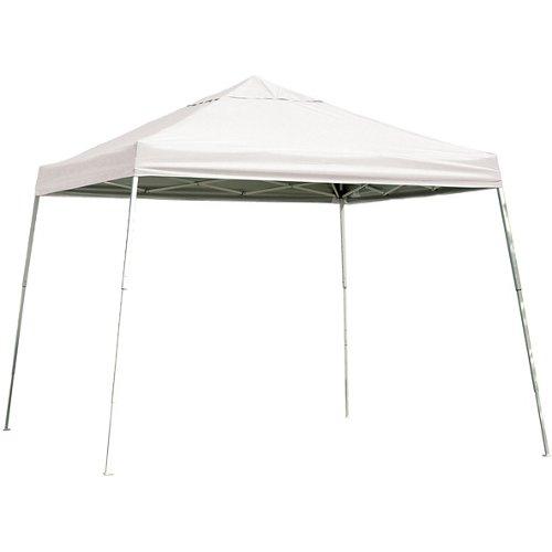 ShelterLogic Sport Series Slant-Leg 12' x 12' Open-Top Pop-Up Canopy