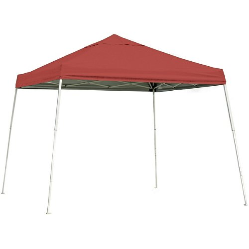 ShelterLogic Sport Series Slant-Leg 10' x 10' Open-Top Pop-Up Canopy