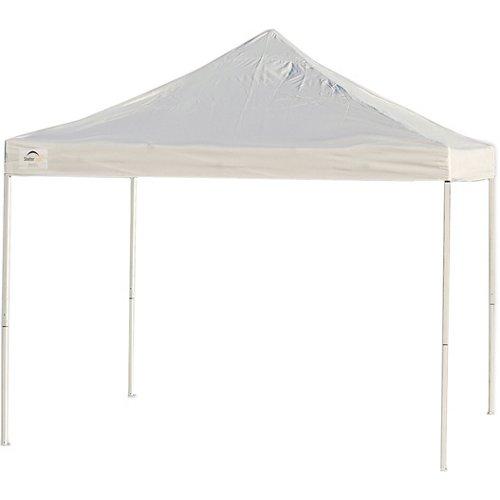 ShelterLogic Pro Series Straight-Leg 10' x 10' Truss-Top Pop-Up Canopy