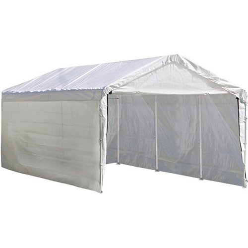 ShelterLogic Max AP™ 8-Leg 10' x 20' 3-in-1 Canopy with Enclosure and Extension Kits