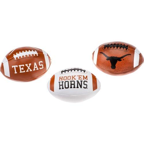 Rawlings University of Texas 3rd Down Softee Footballs 3-Pack