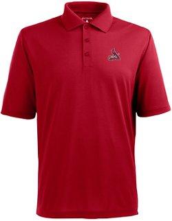 Antigua Men's St. Louis Cardinals Piqué Xtra-Lite Polo Shirt