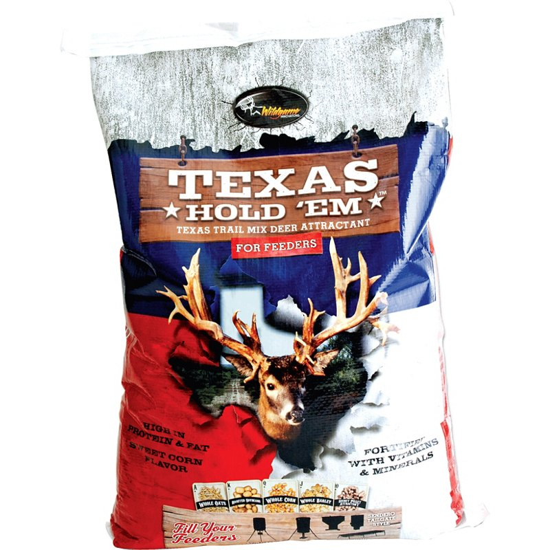 Wildgame Innovations Texas Hold 'Em 25 lb. Texas Trail Mix Deer Attractant - Game Feed And Supplements at Academy Sports thumbnail